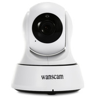 Wholesale Wanscam Wifi Camera - DHL WANSCAM 720P Wireless IR Camera WiFi H.264 Indoor IP Security IR-Cut Night Indoor USB Charger P2P Surveillance Security Camera