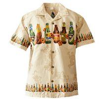 Wholesale hawaiian shorts - Wholesale- Brand New Summer Style Hawaiian Shirt US SIZE Cotton Short-Sleeved Hawaiian Shirt Men Casual Beach Hawaii Shirt Free Shipping