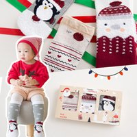 Wholesale Babies Childrens Socks - HOT Christmas Socks For Kids Boys Girls Ankle Socks New Childrens Autumn Winter Santa Baby Socks Children Clothes Kids Clothing A7653