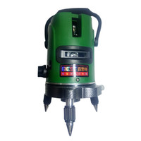 Wholesale laser line green - New Highprecision level Testerwaterproof and dustproof dropProfessional Laser level OpticalInstruments Green light Two lines