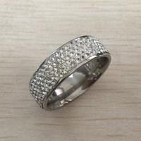 anéis gemstone mexicano venda por atacado-Mens anel de jóias de hip hop Zircão gelado fora anéis de luxo Cut Topaz CZ Diamante Cheio de Pedras Preciosas Homens Anel de Casamento Anel de Moda jóias por atacado