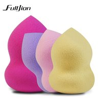 Wholesale Sponges For Facials - 1 Pcs Foundation Sponge Puff Facial Makeup Sponge Cosmetic Puff Flawless Beauty Powder Puff Make Up Sponge for face