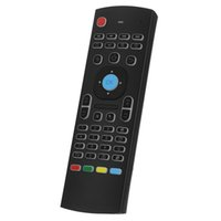 Telecomando mini MX3 Retroilluminato tastiera per mouse Fly Air con sensore di movimento per Smart TV Android TV Box