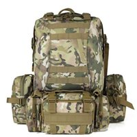 SINAIRSOFT 50L Molle High Capacité du sac Nylon Tactical Sacs à dos Assault Sacs à dos Sac à dos Camping Hunting Sacs sport LY0017