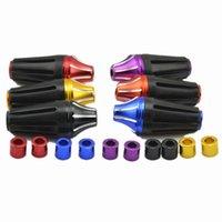протектор рамки оптовых-Каркасные ползунки Защитные кожухи для мотоциклетных защитных подушек Защитный блок двигателя от столкновения Moto Frame Sliders Universal