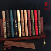 Wholesale Pure Sandalwood Incense - Wholesale- Pure Natural Stick Incense Sandalwood Argy Wormwood Tranquilize Mind Use In The Home Office Bedroom