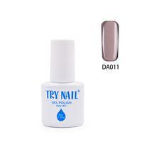 Wholesale Nail Polish Promotions - Wholesale- TRY NAIL New Arrival Promotion Soak Off UV Gel Nail Polish Khaki Color Cute Sweet Profession Nail Art Varnish Glue(DA001~DA030)