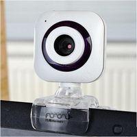 Wholesale Webcam Led Lights - New Design USB Webcam with LED Lights Metal Computer Webcam Web Cam Camera MIC for PC