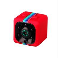 mini tam hd spor kamera toptan satış-SQ11 Full HD 1080P Gece Görüş Kamera Taşınabilir Mini Mikro Spor Kameralar Video Kaydedici Kamera DV Kamera (değil TF kartı dahil)