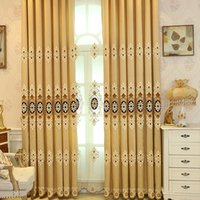 Wholesale Inches Door - Blackout Curtains Contemporary Window Treatments For Bay Windows Living Room Bedroom Curtain 42W 50W 72W 1 Panel Cloth 1 Panel Gauze