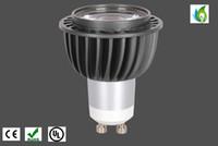 galerias de iluminacion al por mayor-Molde privado 6W 8W GU10 LED Proyector Epistar COB Chip Iluminación interior para Galería de arte AC100-277V