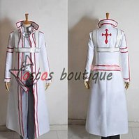 Men blood online - Sword Art Online Knights of the Blood Oath Kirito Cosplay Costume men outfit