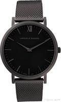 Wholesale White Dress Shock - 2017 Men Top Brand Luxury Famous Wristwatch Male Clock Quartz Watch Women's Ladies dress watch All stainless steel Daniel Wellington