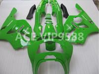 Wholesale Kawasaki Zx6r 97 Green Fairings - 3gifts Fairing Kit for KAWASAKI Ninja ZX6R 636 94 97 ZX 6R1994 1995 1996 1997 zx6r Compression mold Fairings Green A2