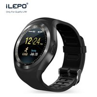 Wholesale App Controlled - Y1 Smart Watch support Nano SIM Card and TF Card With Whatsapp and Facebook & Twitter APP sleep monitoring smartwatches on sale