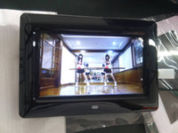 Wholesale Video Picture Frames - 20 pieces per lot 7 inch size digital picture frame white or black in stock 800x480 screen resolution