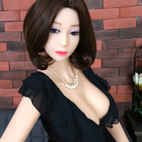 Wholesale Cyberskin Sex Dolls - 155cm New life size real silicone sex dolls sexy big boobs metal skeleton European American head cyberskin 3 holes dropshipping