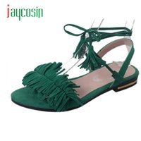 Wholesale Dropshipping Sandals - Jaycosin Elegance New Women Sandals New Hot Fashion Summer Office Low Heel Casual Lace-Up Shoes Hot 17Apr19 Dropshipping