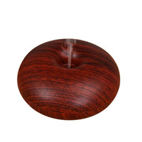 Wholesale office foot - USB Humidifier Aroma Nebulizer Wood Grain Ultrasonic Air Humidifier Aroma Diffuser Aromatherapy Office Purifier Mist Maker 5V