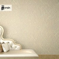 Wholesale Geometric Vinyl Wallpaper - Wholesale-Neutral Plain Solid Color Modern Geometric Stripes Textured Vinyl Wallpaper For Walls Gold Abstract Branches Metallic Wall Paper