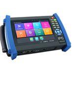 ip-kamera-tester-monitor großhandel-7 Zoll H.265 4 Karat IP CCTV Tester Monitor IP TVI AHD CVI Analoge Kamera tester 8MP 5MP PTZ steuerung 12 V2A ausgangsdraht tracer ONVIF