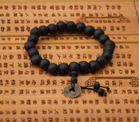 Wholesale Wholesale Buddha Products - New product hot 10mm beads bracelet black buddha beaded jewelry fashion gifts available wholesale 5 colors round beads articles