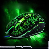 Wholesale Malloom New keys Professional Colorful LED Backlight DPI Optical Wired Gaming Mouse Gamer Mice sem fio For PC Laptop
