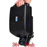 ingrosso e bicicletta 36v-Batteria 36V 10Ah per bicicletta elettrica Con 36v 2a carica batterie 36v10ah Li-ion 36v 10a batterie E-bike