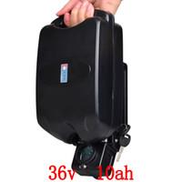 ionen-ladegerät 36v großhandel-Elektrisches Fahrrad 36V 10Ah Batterie Mit freiem 36v 2a Aufladeeinheit 36v10ah Li-Ionbatterie 36v 10a E-Fahrradbatterien