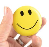 Wholesale Gadgets Video - HD Mini Smile Face Badge Wearable Camera Cool Gadget Mini DV DVR Camcorder Video Recorder