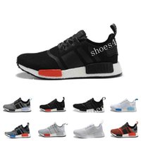 Wholesale Brand Shoes Online - 2017 Cheap Online Wholesale NMD R1 Primeknit PK Top Quality Shoes NMD Mens Womens Athletic Running Sneaker Shoes Running Brand NMD Boost
