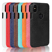 """Wholesale Iphone Leather Snake - for iPhone 8 Case Luxury Crocodile Snake Print Leather Case Back Cover for iPhone 8 Cases 5.1""""inch Phone Bag Coque Capa"""