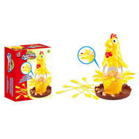 Wholesale interactive educational games resale online - Chicken Dont Drop Egg Game Child Exciting Fun Pull Out Feathers Toy Gift Family Educational Parent Child Interactive Game Toys