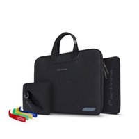 Wholesale Neoprene Laptop Pouch - 2017 New Neoprene Universal Laptop Bag Notebook Case Briefcase Handlebag Pouch For Macbook Air Pro Retina Men Women