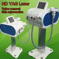 Wholesale Multifunctional Beauty Equipment - Best effective multifunctional beauty equipment nd:yag laser tattoo removal skin whitening hot in usa dhl free shipment