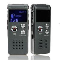unidades flash ocultas al por mayor-Al por mayor-Nuevo profesional 8 GB Grabadora de voz digital USB Flash dictáfono Mini reproductor de MP3 Pen Drive Grabadora grabadora de audio de voz oculta