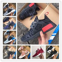 Wholesale Hot NMD XR1 Mastermind Japan MMJ Black White Men Women Running Shoes Sneakers Originals NMDs Runner Primeknit Boost Sports Shoes size