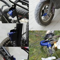Wholesale bike disk rotor resale online - Hot Anti theft Disk Disc Brake Rotor Lock For Scooter hoverboard Bike Bicycle Motorcycle Safety