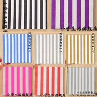 Wholesale Tissue Paper For Packing - Wholesale- NP86,3 packs Wedding Napkins Mixed Colors Stripe Napkin Paper 100% Virgin Wood Tissue for Party Wedding Decoration