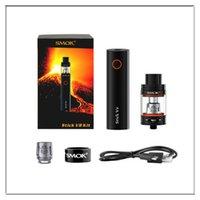 Wholesale Electronic Cigarette Kit 5ml - smok stick v8 starter kits 3000mah vape pens mechanical mod battery with 5ml atomizer electronic cigarette 1:1 clone