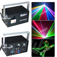 Atacado- Chrismas Multi Color 2 watt RGB Beam Laser DJ Lights / Stage Lighting / Laser show projector discoteca outdoor