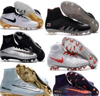Wholesale Cheapest Rubber Flooring - Top Quality Kids Mercurial Superfly FG CR7 Magista Obra Soccer Shoes Cristiano Ronaldo Cleats Neymar Footbal Shoes Cheapest Soccer Boots