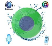 Wholesale Docking Speaker For Ipad - Portable Shower Waterproof Bluetooth Speaker Mini Wireless Bluetooth Handsfree Speakers for iPad iphone 6 plus 5s Samsung note 4 Dropshiping