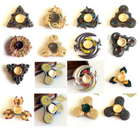Wholesale Honor Glory - Metal King Glory Hand Spinner Honor Hurricane Shape Alloy Hand Spinner Tri-Spinner Fidget Toy EDC Decompression Anxiety Gyro