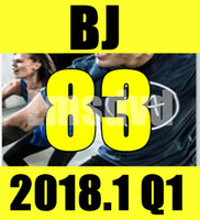 Top-sale 2018.1 Gennaio Q1 New Routine BJ 83 Aerobica Fitness Esercizio Video BJ83 Video DVD + CD Musica