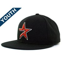 Wholesale Wholesale Snapbacks For Kids - Kids Fitted Snapback Hats Famous American Football Sport Team Caps Snapbacks Hats with Cotton for Men
