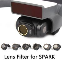 Wholesale Camera Filter Sets - SPARK Camera Lens Filter CPL MCUV ND4 ND8 ND16 ND32 Filter Set for DJI SPARK NOT Affect Gimbal