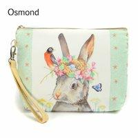 Wholesale Girl Big Flower Bag - Wholesale- New Big Size Women Cosmetic Case Make Up Bags Travel Flower Floral Canvas Zipper Simple Casual Girl Lady Pouch Storage Organiz