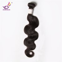 Wholesale Hair One Full - Unprocessed virgin hair weave one bundle cheap brazilian hair body wave soft brazilian hair full bundles 100g pcs no tangle no shedding