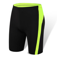 Wholesale Wholesale Men S Basketball Shorts - Wholesale- Men Training Shorts Sexy Gym Wear Boys Running Tights Quick Dry Breathable Basketball Fitness Compression Mens Athletic Shorts